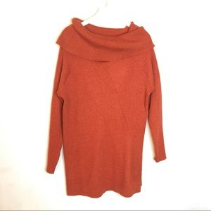 LANE BRYANT Cowl Neck Sweater Textured Ribbed